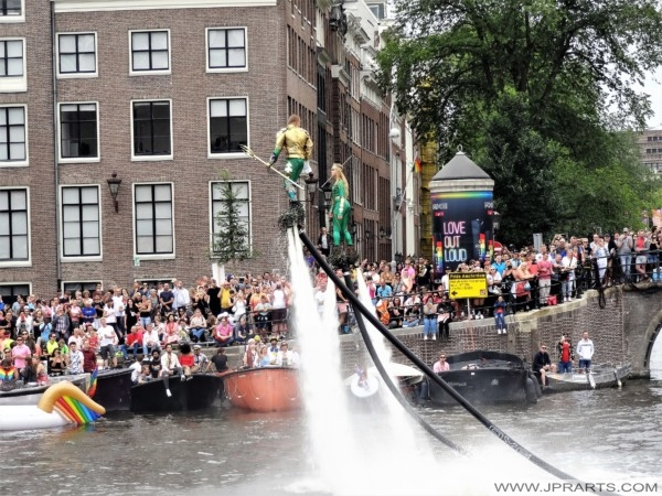 Showtime during the Amsterdam Pride 2019