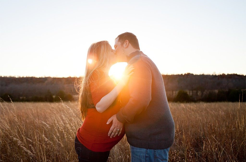 Tulsa Maternity Photographers ~ Melissa & Chad