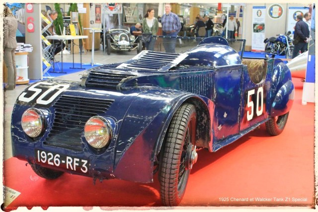 Automédon - 1925 Chenard et Walcker Tank Z1 Special