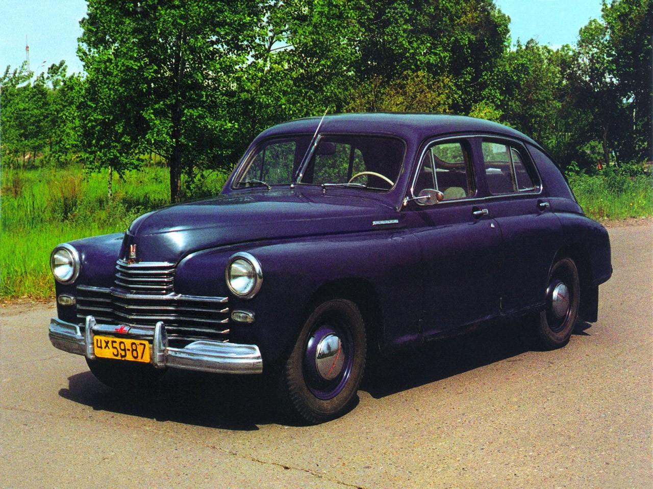 1946 1955 Gaz M20 Pobeda