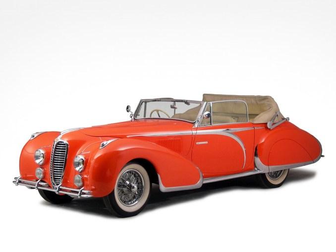 1947 Delahaye 135 M Drophead Coupe by Figoni Falaschi