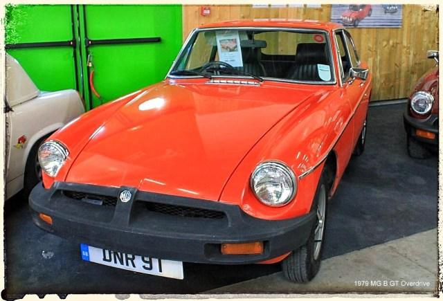 Automédon - 1979 MG B GT Overdrive