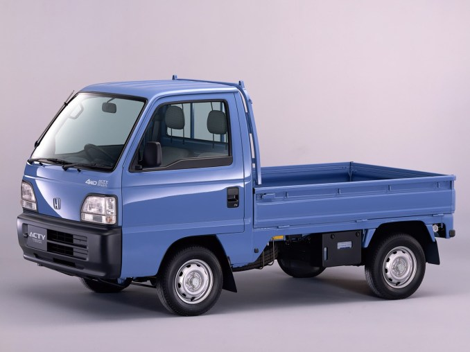 1996 Honda Acty Truck 4wd