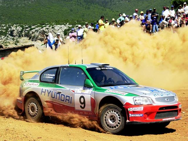 2001 Hyundai Accent WRC