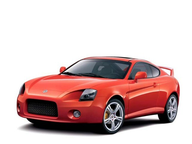 2002 Hyundai Coupe Aero Coupe