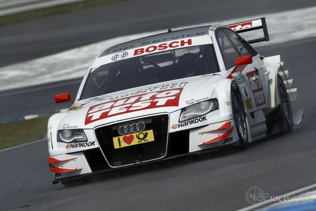 2011 DTM - Audi A4 - Timo Scheider