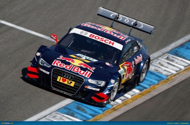 2012 DTM Hockenheim - Audi- Ekstrom