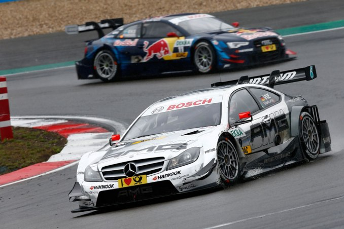 2013 DTM Nurburgring - Mercedes AMG - Christian Vietoris