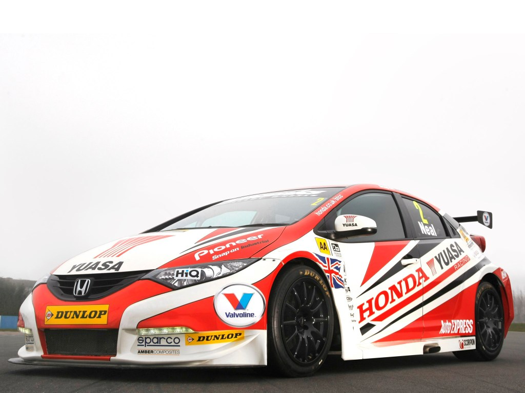 2013 Honda Civic BTCC