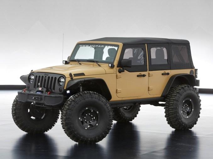 2013 Jeep Wrangler Sand Trooper II Concept