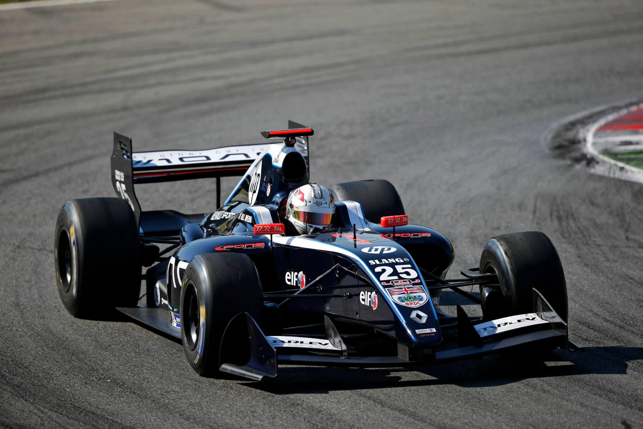 2014 Formula Renault 3.5 Series – Monza – Oliver Webb