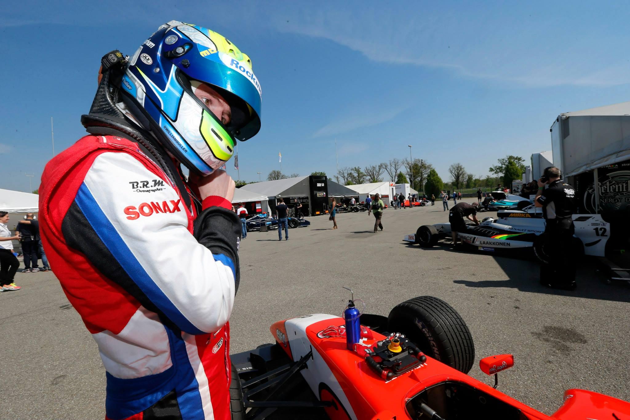 2014 Formula Renault 3.5 Series - Monza - William Buller