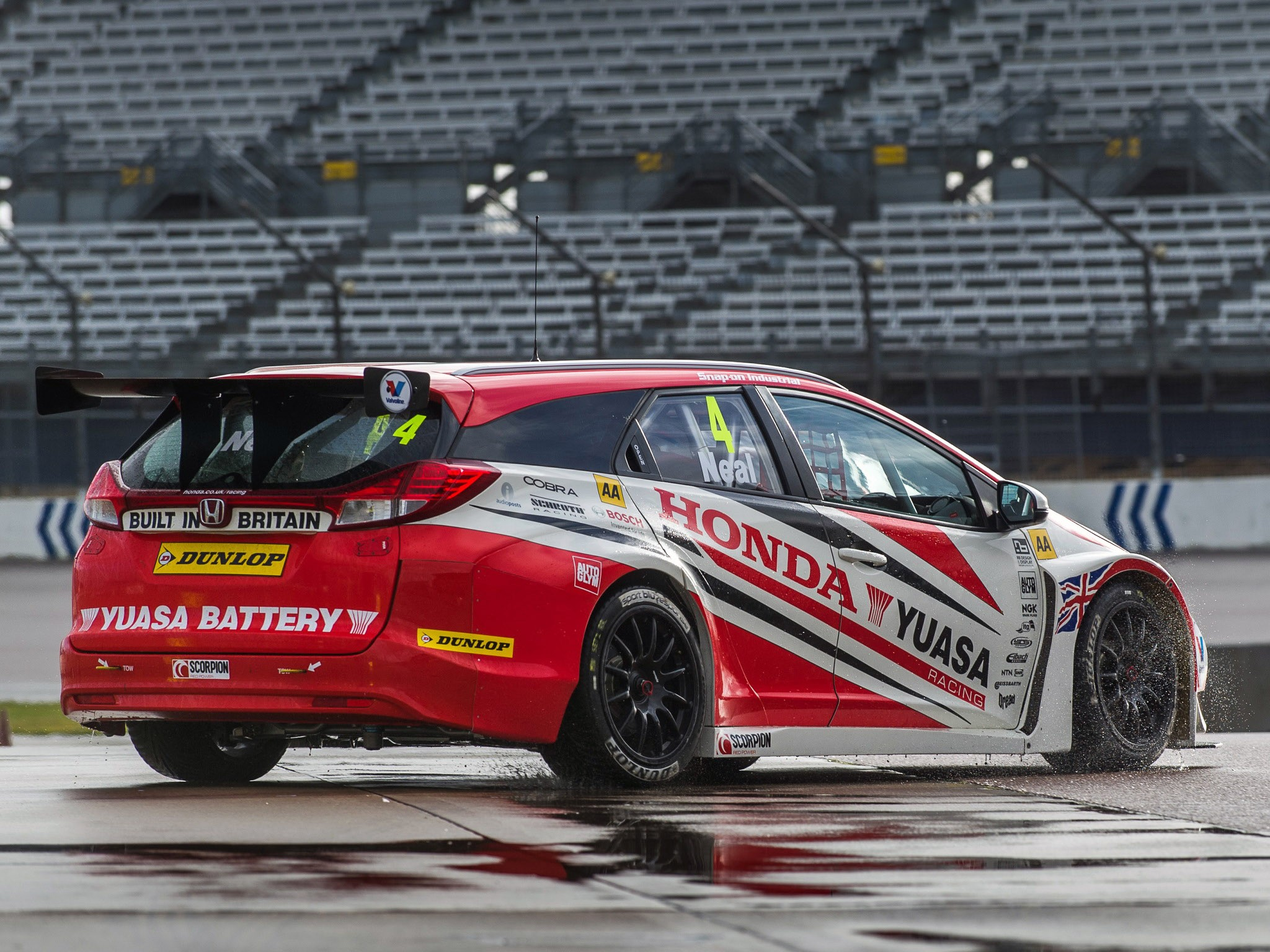 2014 Honda Civic Tourer BTCC
