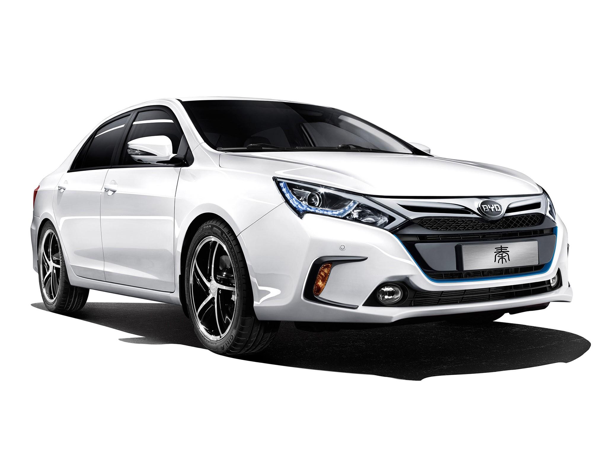 2014 Byd Auto Qin Hybride