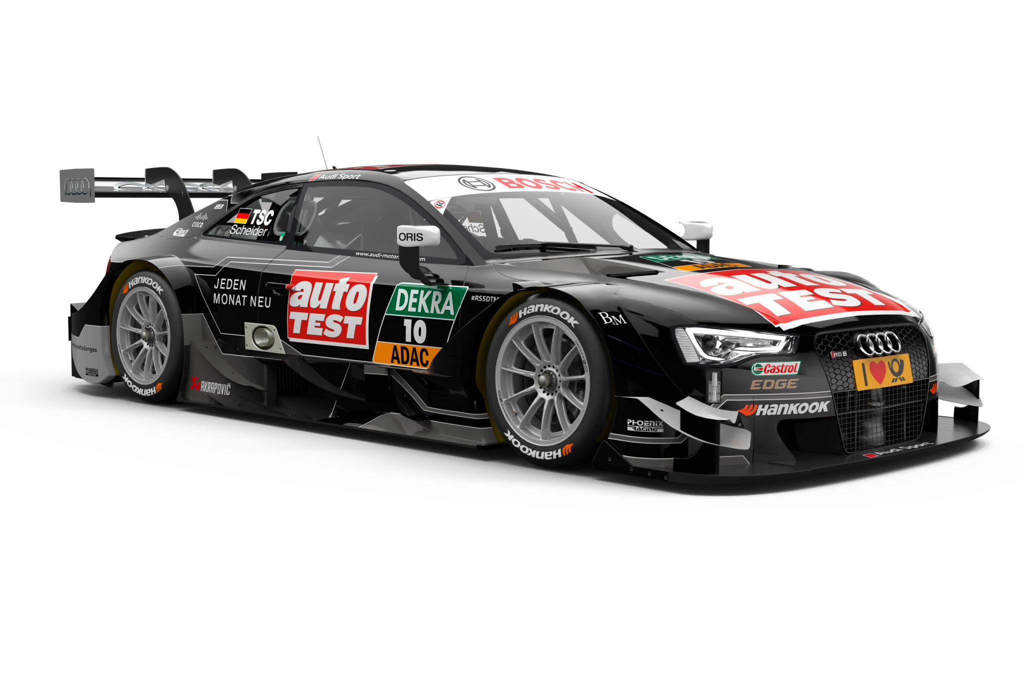 2015 Audi RS5 DTM - Timo Scheider