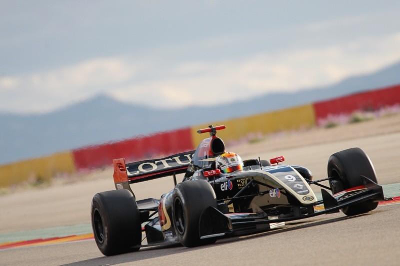 2015 Formula Renault 3.5 Series - Aragon - Gustav Malja