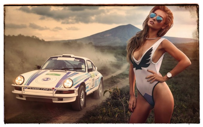 2015 Calendrier Miss Tuning Avril