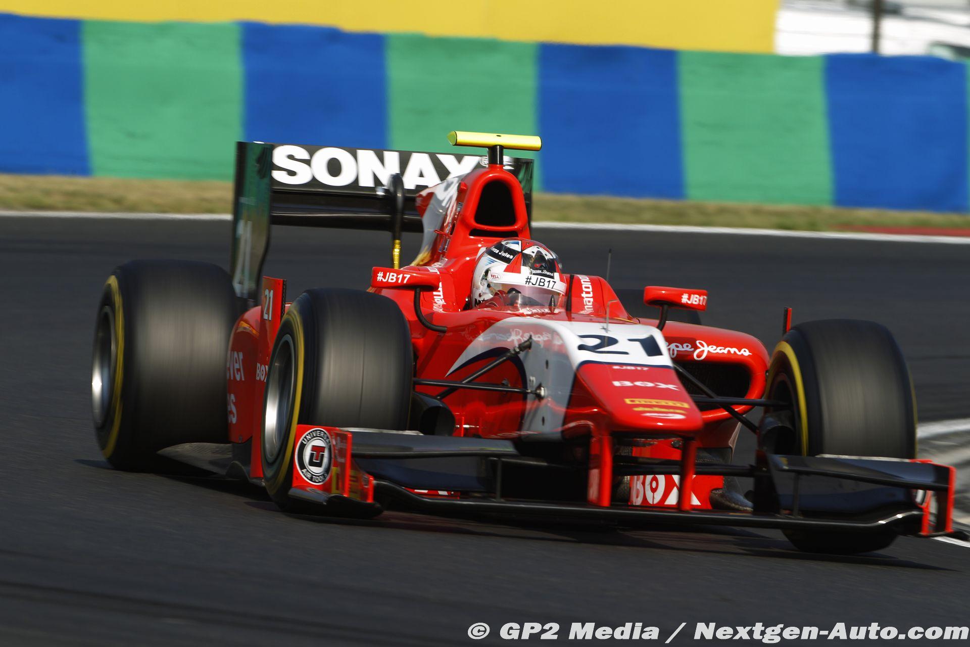 2015 GP2 Hongrie - Arden - Norman Nato