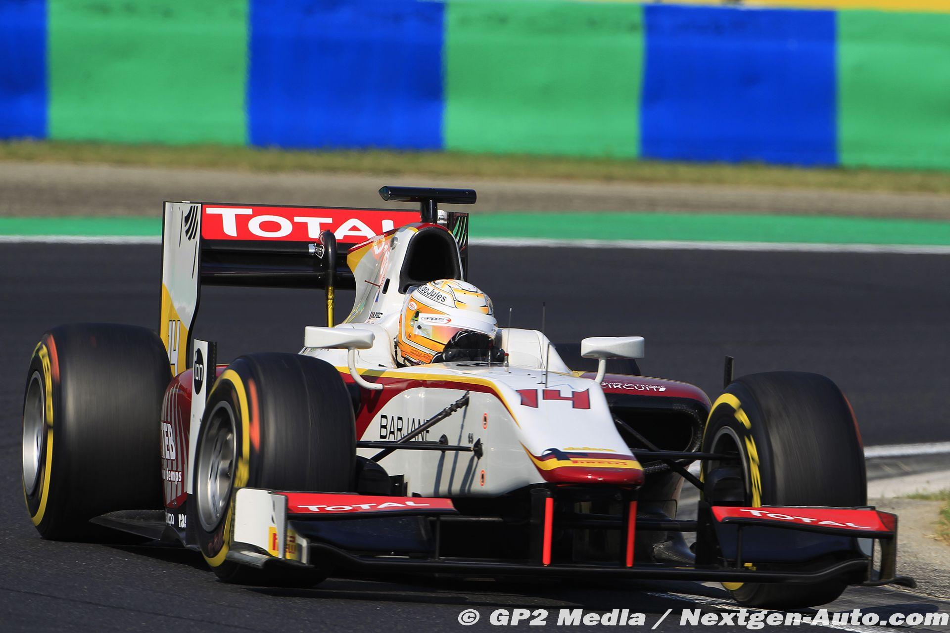 2015 GP2 Hongrie - Campos Racing - Arthur Pic