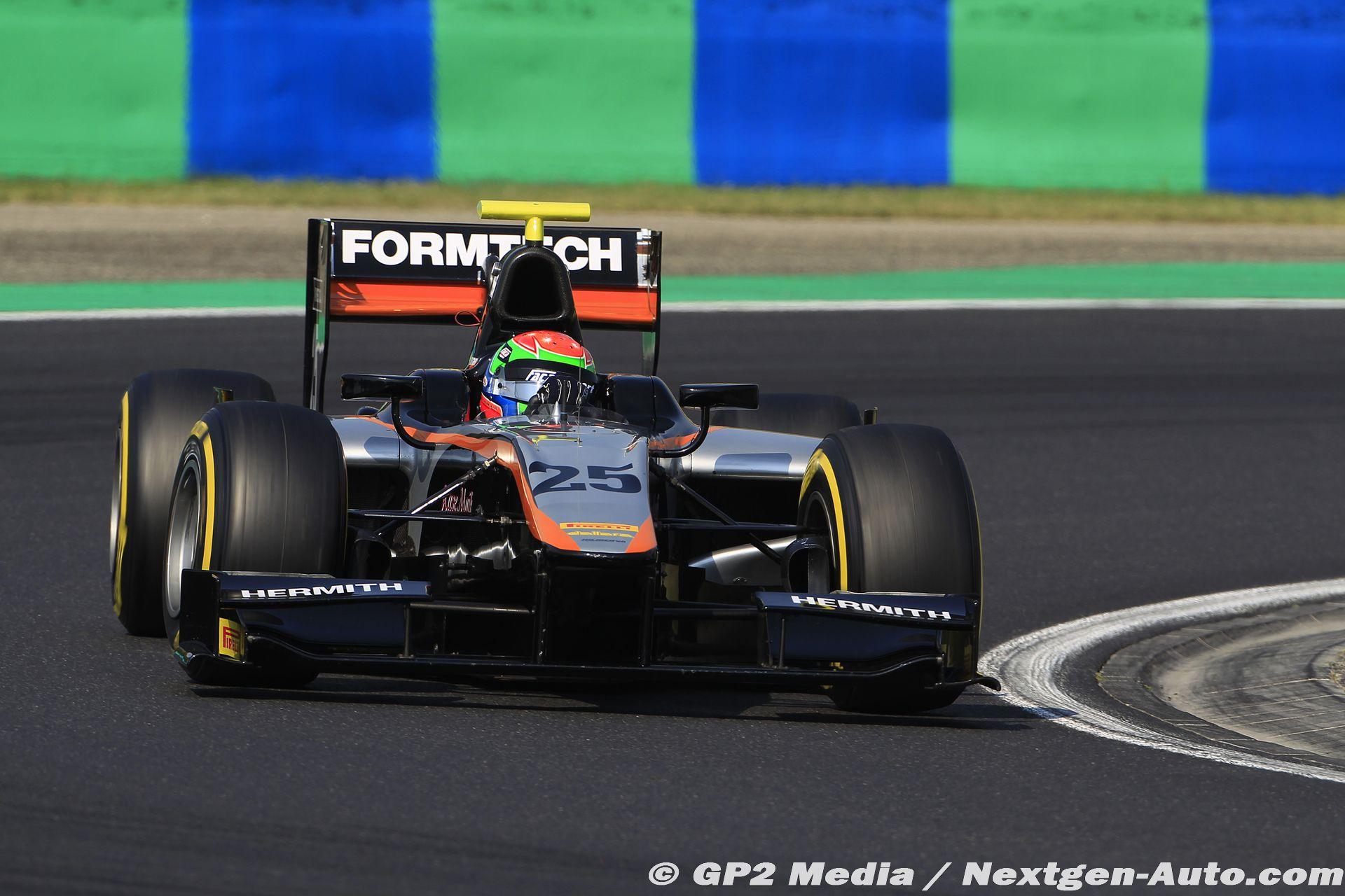 2015 GP2 Hongrie - Hilmer Motorsport - Sergio Canamasas