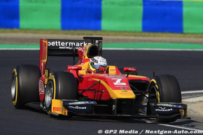 2015 GP2 Hongrie - Racing Engineering - Jordan King
