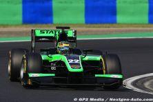 2015 GP2 Hongrie - Status Grand Prix - Marlon Stockinger