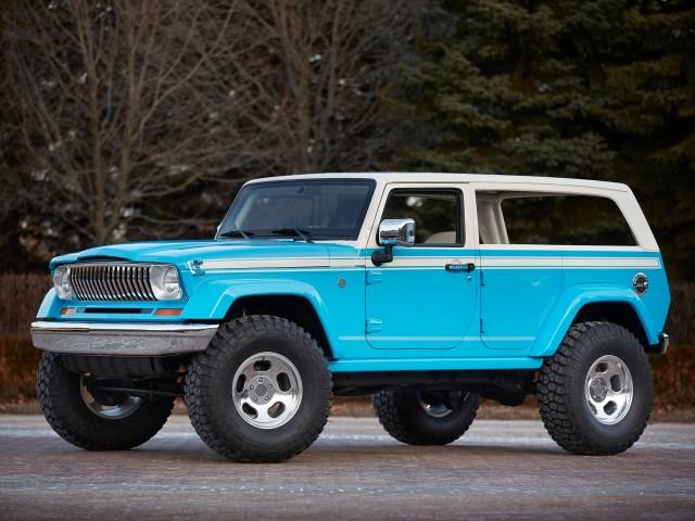 2015 Jeep Chief Concept JK