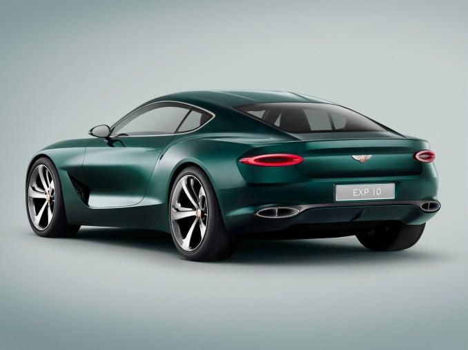 2015 Bentley EXP10 Concept