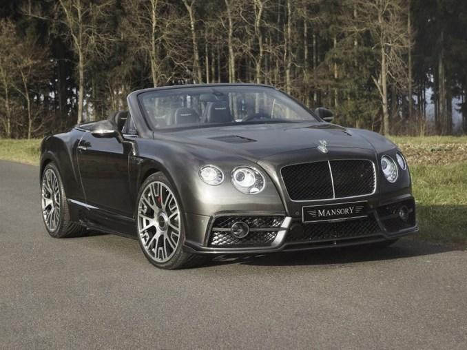 2015 Mansory Bentley Continental GT Cabriolet Edition 50