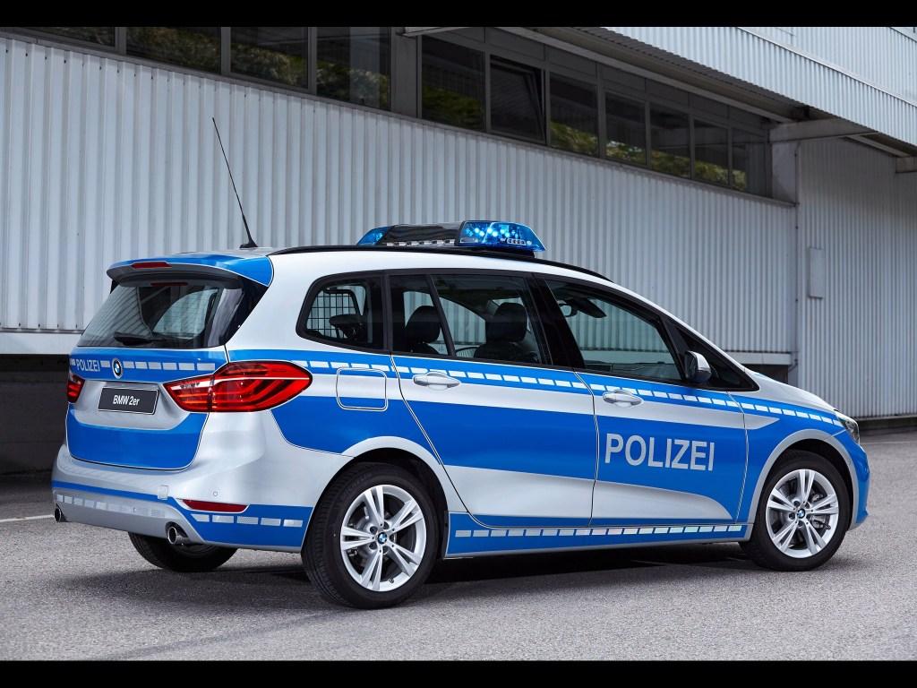 2016 Bmw 220d Xdrive Gran Tourer Polizei F46
