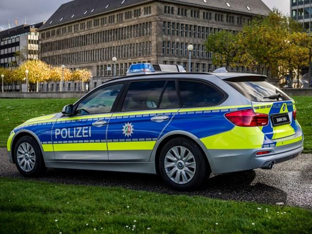2016 Bmw 318d Xdrive Touring Polizei F31