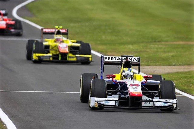 2016 GP2 Series Silverstone Philo Paz Armand