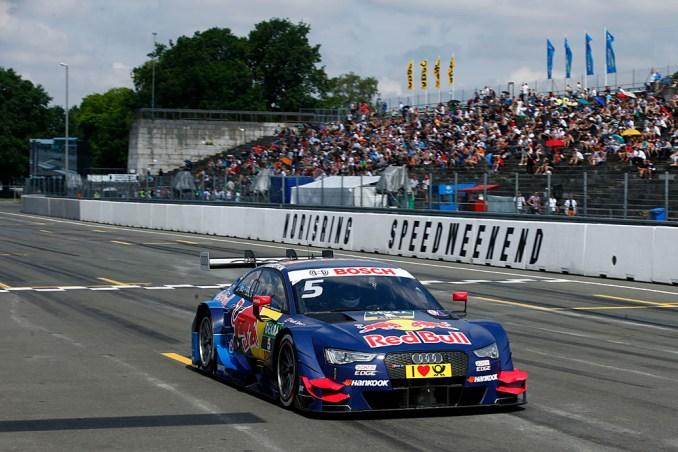 2016 Mattias Ekstrom - Audi RS5 DTM