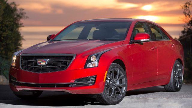 2016 Cadillac ATS Black Orange