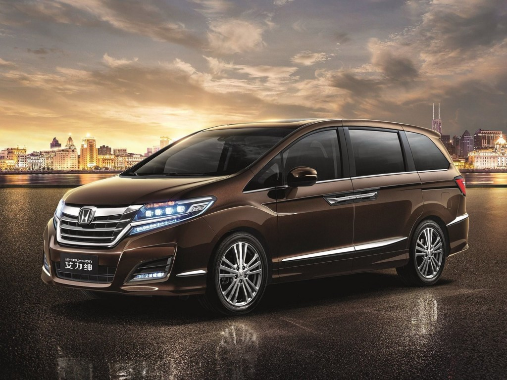 2016 Honda Elysion China