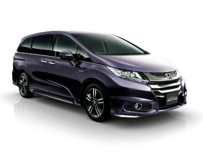 2016 Honda Odyssey Absolute Hybrid