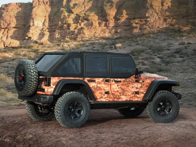 2016 Jeep Trailstorm Concept