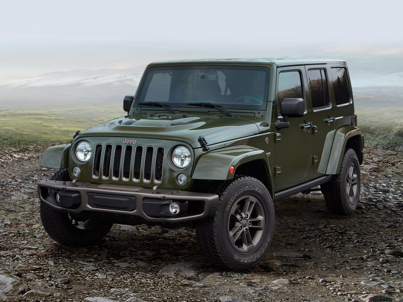 2016 Jeep Wrangler Unlimited 75th Anniversary