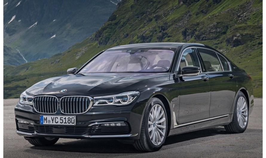 La BMW 740Le xDrive 2017 – Toutes les Photos et info de la BMW Serie 7