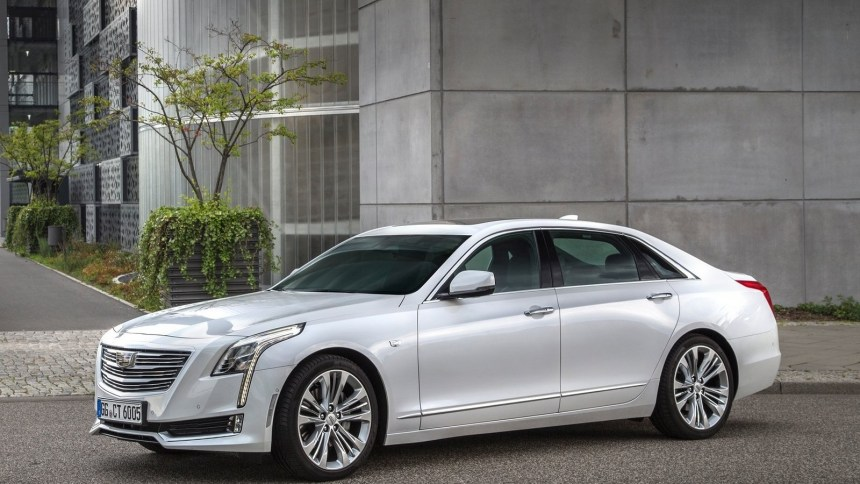 Cadillac CT6 Version EU 2017