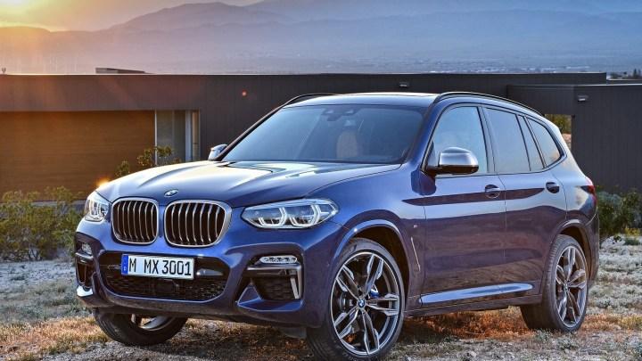Le nouveau BMW X3 et X3 M40i 2018 – Les première photos du Bmw X3