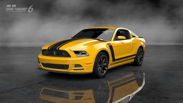 Ford Mustang Boss 302 Gran Turismo