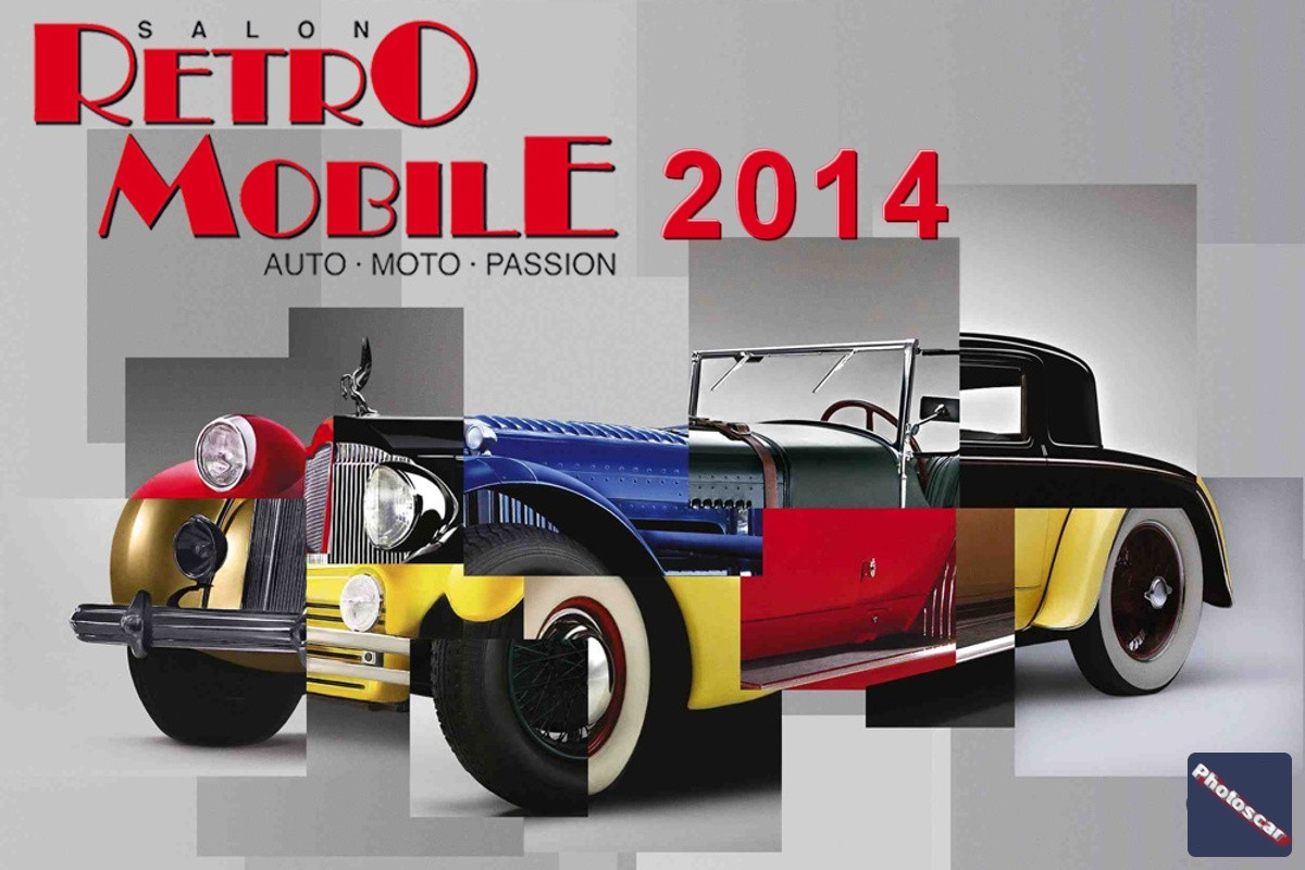 Logo Retromobile 2014