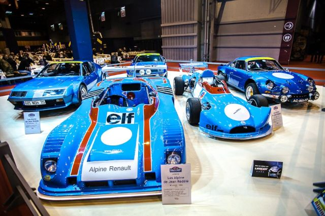 Alpine Renault tribute - Retromobile 2014