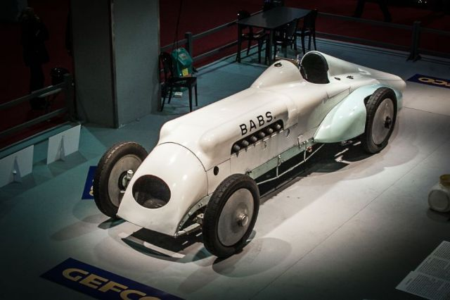 Babs Land Speed Record Car