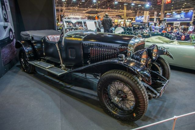 Bentley 4.5 Litre - Fiskens stand
