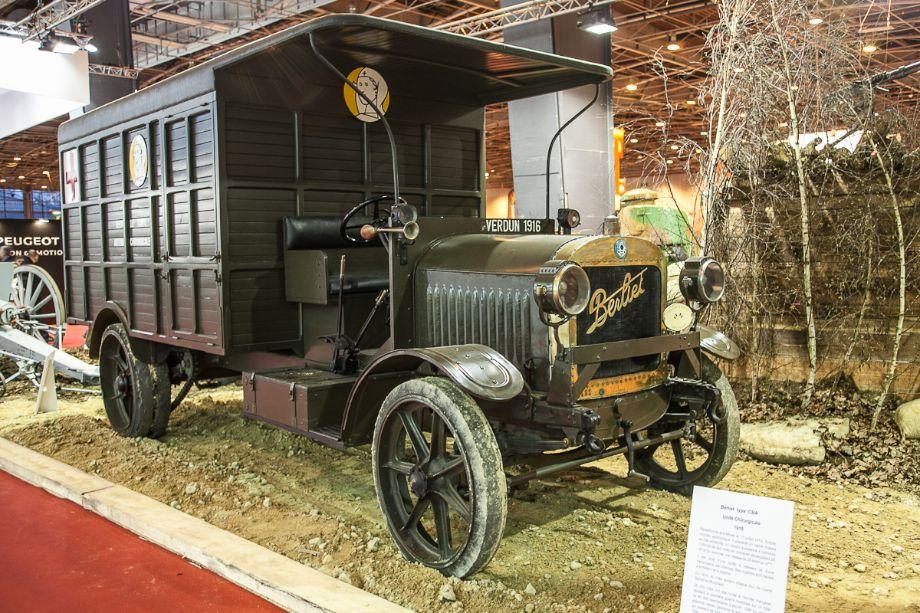 Berliet CBA 1917 antenne ch