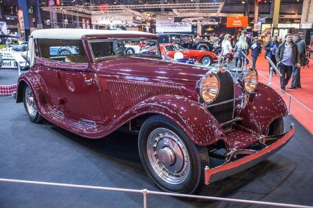 Bugatti T46 Le Petit Royale - Fiskens stand