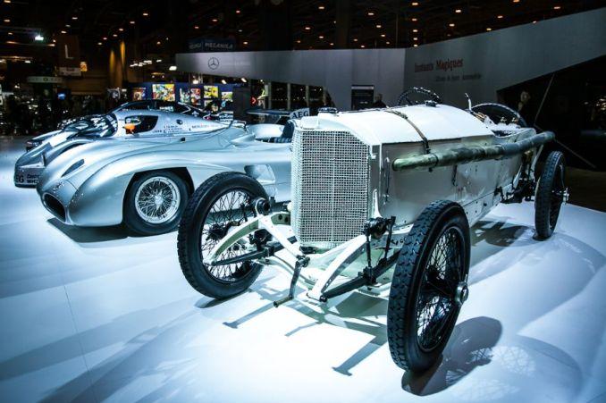 Mercedes-Benz Classic stand