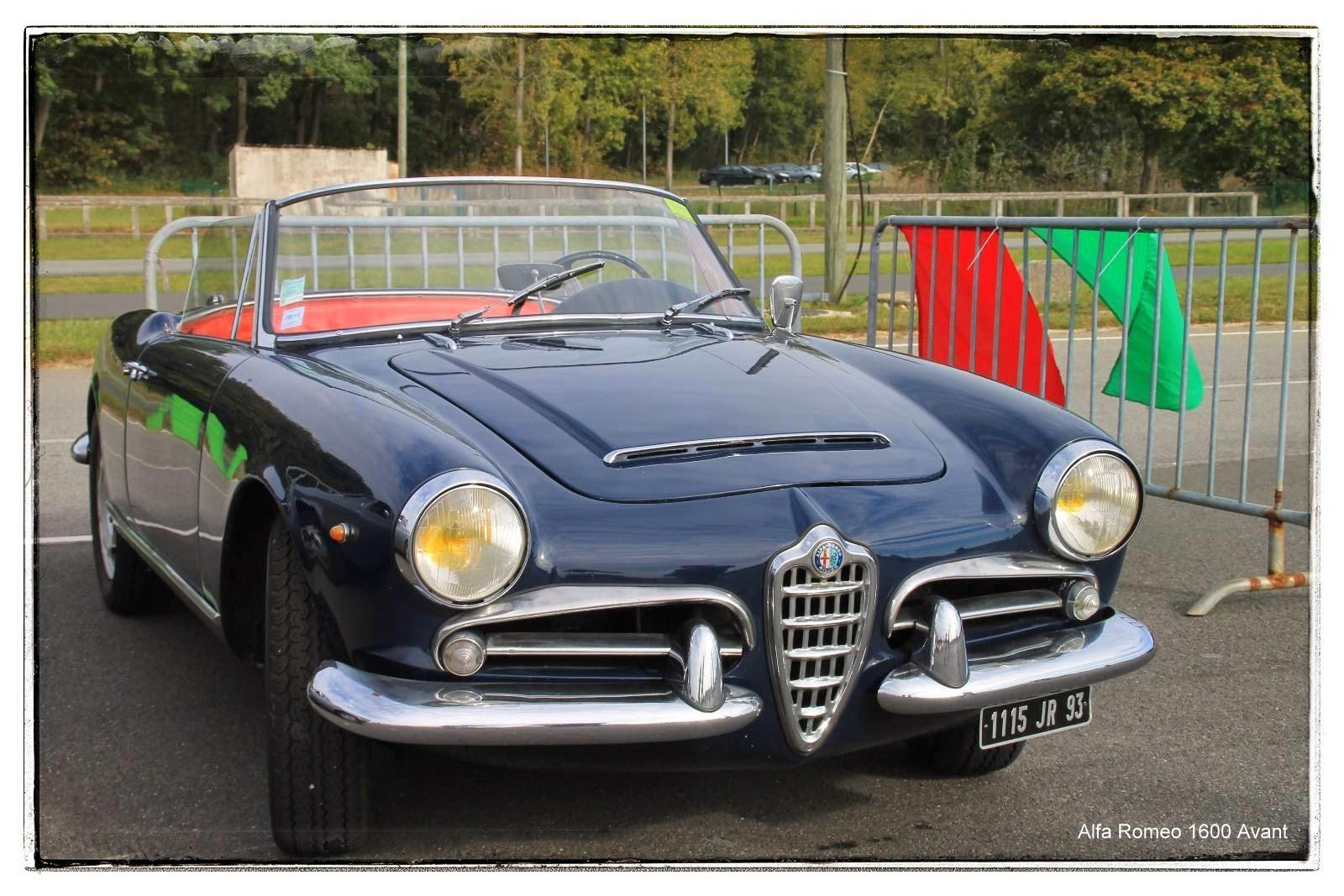 Alfa Romeo Giulia 1600 Spider 1964 - Italian Meeting